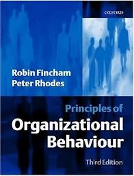 9780198775775: Principles of Organizational Behaviour - AbeBooks - Fincham, Robin;  Rhodes, Peter S.: 0198775776
