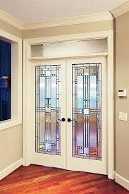 decorative french doors interior photo 1