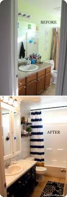bathroom remodel pictures before and after. Interesting After Crisp Modern Bathroom Remodel On A Budget And Pictures Before After W