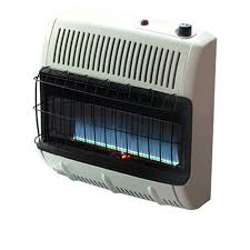 30 000 btu vent free blue flame natural gas heater