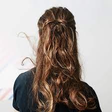 hair from bleach blonde to dark brown