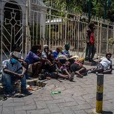 Haitians Seek Change After President's ...