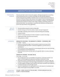 Aerospace Process Quality Engineer Resume Aerospace Engineering