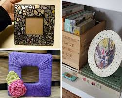 diy photo frames 26 cool diy projects for teens bedroom