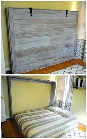 wall bed plans horizontal murphy bunk do it yourself diy pdf