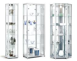 corner display cabinet home white glass display cabinets single double or corner corner display cabinets with