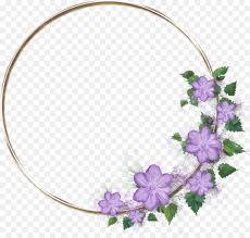 Tentu saja bingkai bunga bulat png memang telah banyak dicari oleh orang di internet. Floral Flower Background