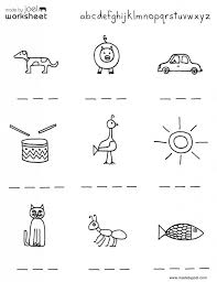 kindergarten worksheets to print the best image readi : Criabooks