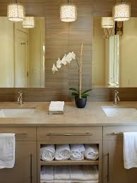 spa lighting for bathroom. Large Contemporary Beige Tile Bathroom Idea In Charleston With An Undermount Sink Flatpanel Spa Lighting For