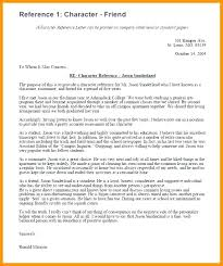 Student Character Reference Letter 10 Character Reference Letter Samples Lycee St Louis