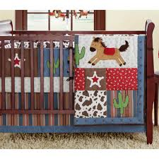 image of cowhide baby bedding
