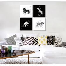 Zebra Living Room Compare Prices On Zebra Print Black Online Shopping Buy Low Price
