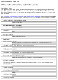 Loan Agreements Between Individuals Beauteous 48 Loan Agreement Templates Samples Write Perfect Agreements