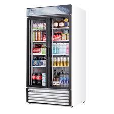 everest emsgr33 reach in glass door merchandiser refrigerator