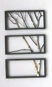 framed metal tree wall art inspirational diy tree branch frame ideas my home decor guide of