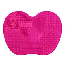 silicone makeup brush cleaner. kedsum silicone makeup brush cleaning mat, cleaner, cosmetic mat portable cleaner i