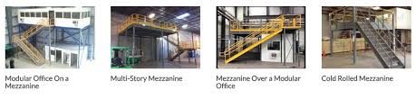 warehouse mezzanine modular office. Mezzanine Examples: Warehouse Modular Office R
