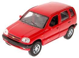 <b>Модель машины Welly Chevrolet</b> Niva - 42379 | детские игрушки с ...