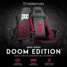 <b>noblechairs</b> Hero Doom Edition: <b>игровое кресло</b> для фанатов ...