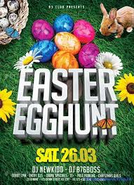 60 Best Easter Party Flyer Print Templates 2018 Frip In