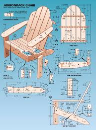 adirondack chair plans. Delighful Plans Intended Adirondack Chair Plans