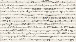 Mozart Clarinet Concerto in A major K 622 (1st Mvt) Sheet Music - YouTube