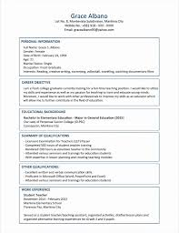 50 Beautiful Formal Resume Format Simple Resume Format Simple
