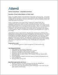 Architect Resume Resumes Sample Canada Enterprise Objective Data