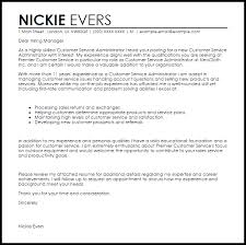 Customer Service Cover Letter Customer Service Associate Cover Letter Sample Cover
