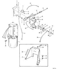 Mercruiser r mr alpha one sterndrive hydraulic pump and bracket oildyne pump metal reservoir
