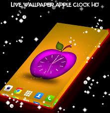 Live Wallpaper Apple Clock HD for ...