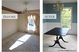 wainscoting dining room. Dining Room Before And After Wainscoting. Get The Tips For Putting Up Molding Like A Wainscoting