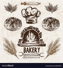 Bakery Digital Detailed Vector Images 82