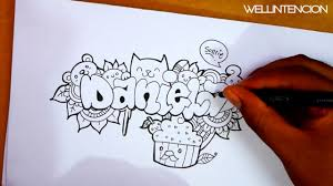 Cool Designs To Draw Your Name How To Make Your Name In Doodle Daniela Wellintencion Art