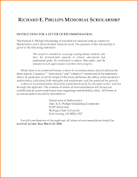Best Of Scholarship Recommendation Letter Template | Template Galery