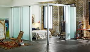 glass room loft dividers open full image