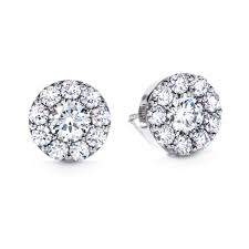 Diamond Round Earrings Designs Fulfillment Round Earrings 1 41tw