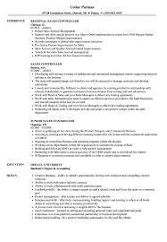 Sales Controller Resume Samples Velvet Jobs