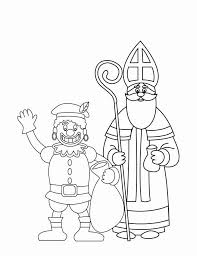 Kleurplaat Zwarte Piet En Sinterklaas 2 Afb 16170 Images
