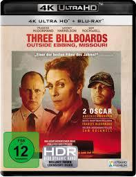 Three Billboards Outside Ebbing, Missouri 4K Ultra HD Film