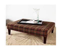 large rectangular coffee table stool