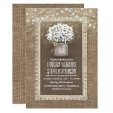 Burlap And Lace Wedding Invitations Burlap And Lace Wedding Invitations Rustic Country Wedding Invitations