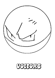 Small Picture Voltorb coloring pages Hellokidscom