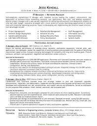 Briliant Ict Manager Resume Information Technology Director Resume
