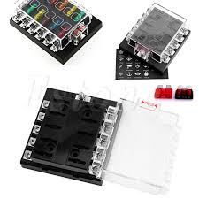 custom fuse box reviews online shopping custom fuse box reviews car fuse boxes dc 32v 10 way fuse box holder circuit car boat auto automotive atc ato blade fuses fuse boxes