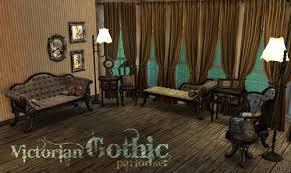 spring4sims victorian gothic antique living room by adele mts2 antique victorian living room