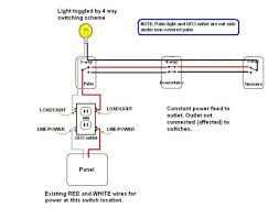 how to wire a gfci outlet to a light switch the wiring diagram 4 way swtich using gfci outlet load connectors for light wiring diagram