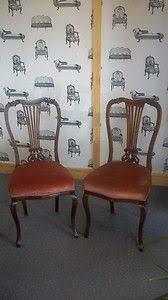 edwardian bedroom chairs. beautiful \u0026 elegant pair of edwardian bedroom chairs - refurbished with love by fleur vintage x