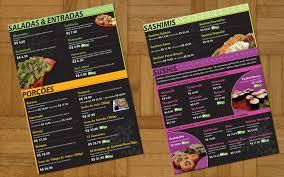 Menu Designs 40 Restaurant Menu Designs For Inspiration Designbump