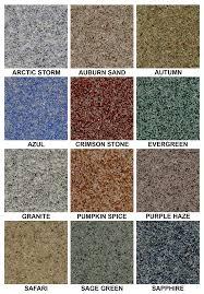 epoxy flooring colors. Quartz Epoxy Flooring Color Chart Colors O